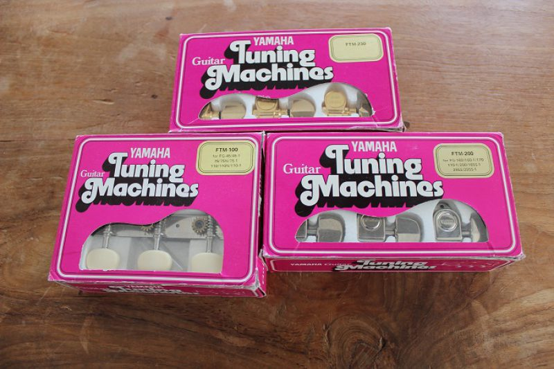 1970'ies lot of NOS tuners